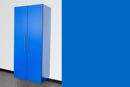Cobalt Blue Cabinet Option