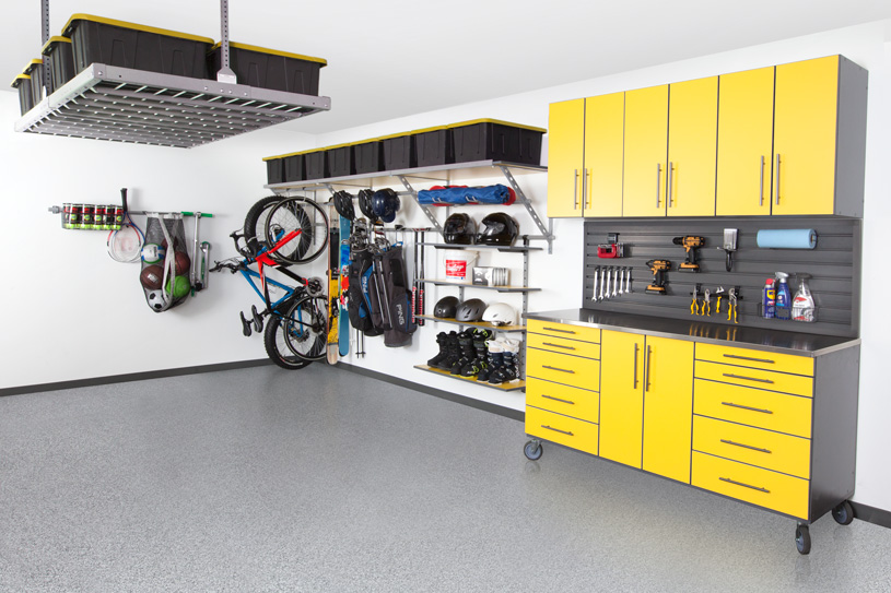 Coordinated Garage Makeovers in San Francisco